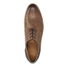 Kožené polobotky na průhledné podešvi bata, hnědá, 826-3803 - 19