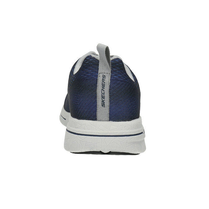 Pánské tenisky s paměťovou pěnou skechers, modrá, 809-9141 - 17