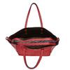 Perforovaná dámská kabelka bata, červená, 961-5276 - 19