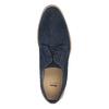 Modré polobotky z broušené kůže bata, modrá, 823-9606 - 19