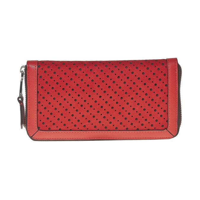 Červená dámská peněženka bata, červená, 941-5147 - 26