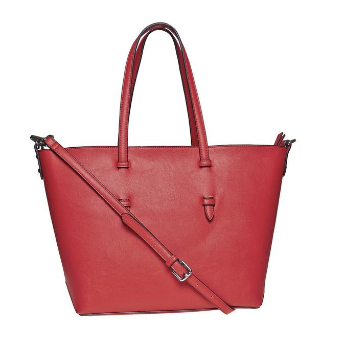 Perforovaná dámská kabelka bata, červená, 961-5276 - 26