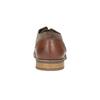 Pánské polobotky z broušené kůže bata, hnědá, 823-4606 - 17