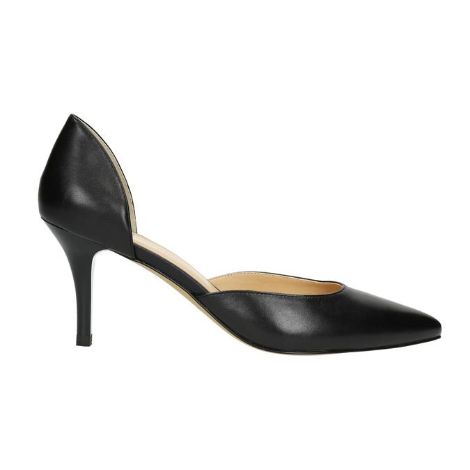 Lodičky na jehlovém podpatku bata, černá, 624-6631 - 15