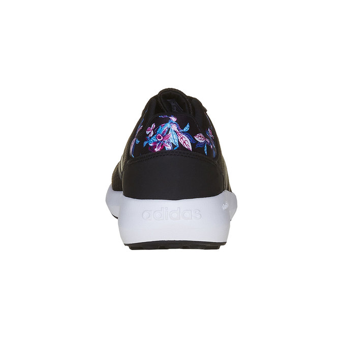 Černé tenisky s květinovým vzorem adidas, černá, 509-6974 - 17