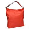 Červená kabelka s dvojitým uchem bata, červená, 961-5707 - 13