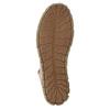 Kožená kotníčková obuv s červeným zipem weinbrenner, hnědá, 596-8654 - 26