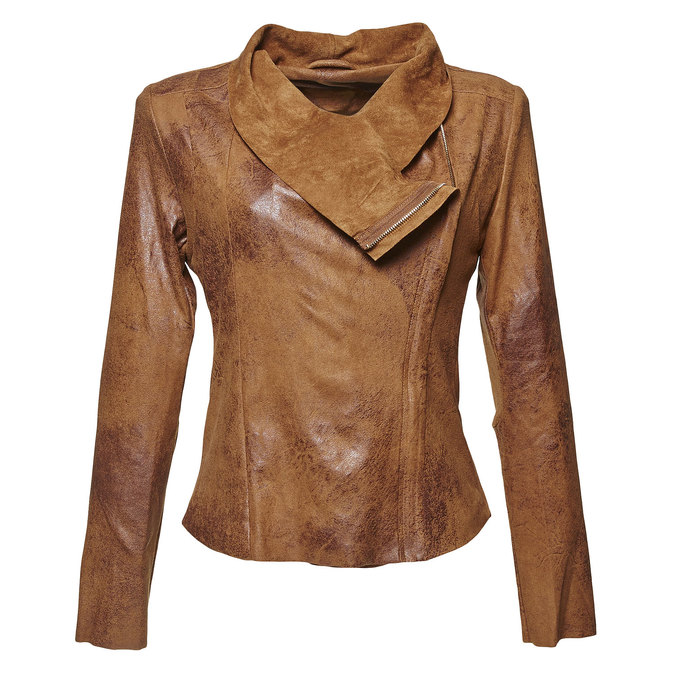 Lehká dámská bunda bata, hnědá, 979-3635 - 13
