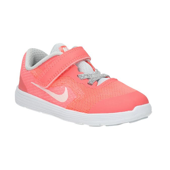 Dívčí růžové tenisky nike, růžová, 109-5549 - 13
