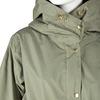 Khaki dámská bunda s kapucí joules, khaki, 979-3012 - 16