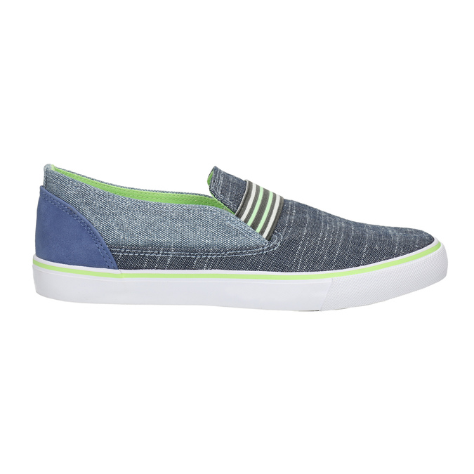 Dětské Slip-on boty north-star-junior, modrá, 419-9612 - 15