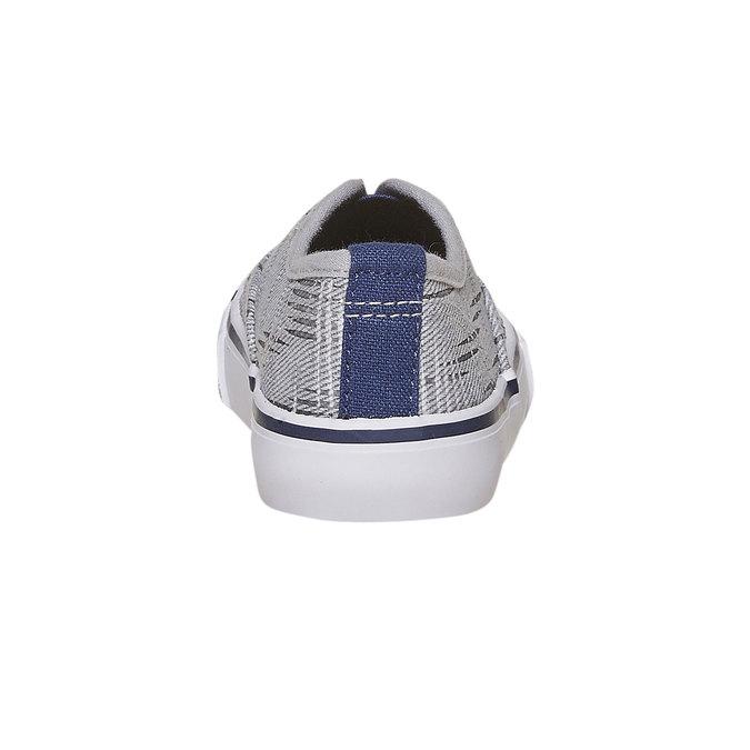 Dětská Slip-on obuv north-star, šedá, 219-2154 - 17