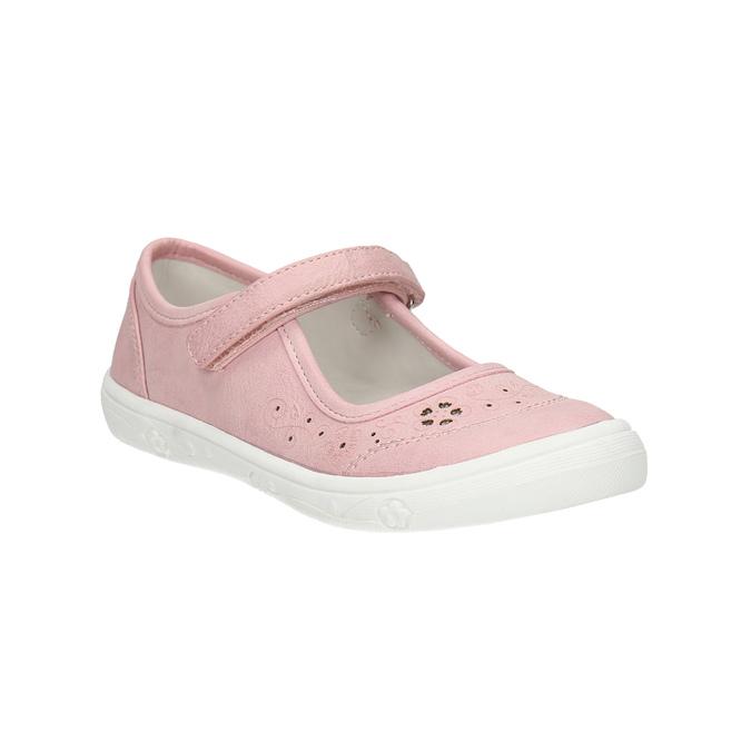 Dívčí růžová obuv mini-b, růžová, 221-5604 - 13