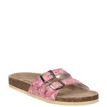 Dámská domácí obuv de-fonseca, růžová, 571-5600 - 13