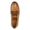 Kožené polobotky na ležérní podešvi bata, hnědá, 846-3619 - 19