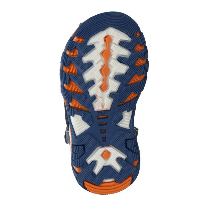 Chlapecké kožené sandály bubblegummers, modrá, 166-9600 - 26