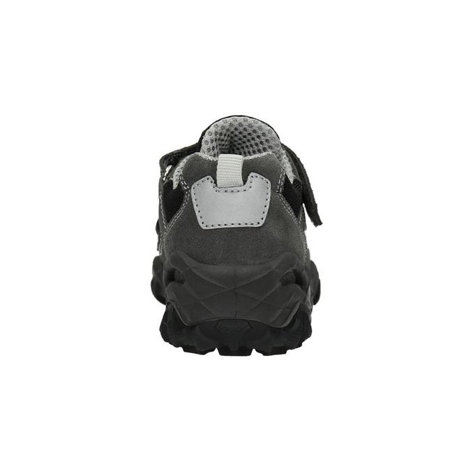Dětské tenisky na suchý zip mini-b, šedá, 413-2602 - 17