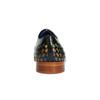 Černé kožené polobotky s propletením melvinandhamilton, černá, 826-6055 - 17