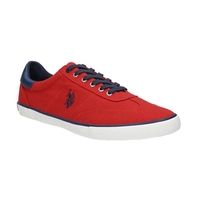 Ležérní červené tenisky u-s-polo-assn-, červená, 829-5016 - 13