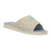 Domácí obuv s nápisem bata, modrá, 579-9618 - 13