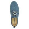 Ležérní kožené polobotky weinbrenner, modrá, 523-9475 - 19