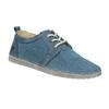 Ležérní kožené polobotky weinbrenner, modrá, 523-9475 - 13