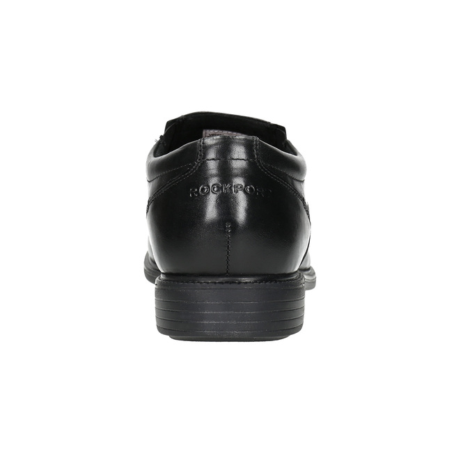 Pánské kožené polobotky rockport, černá, 824-6117 - 17