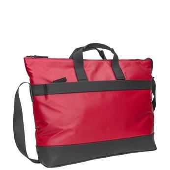 Červená cestovní taška roncato, červená, 969-5641 - 13