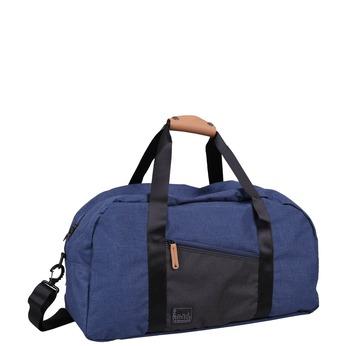 Modrá cestovní taška roncato, modrá, 969-9648 - 13