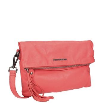 Kožená dámská Crossbody kabelka fredsbruder, červená, 964-5037 - 13
