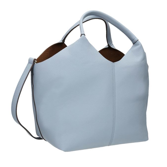 Modrá dámská kabelka bata, modrá, 961-9704 - 13