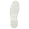 Kožené mokasíny s perforací bata, hnědá, 526-4631 - 26