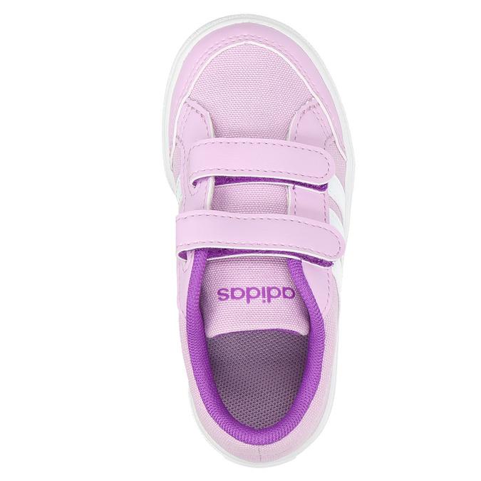 Fialové dětské tenisky adidas, fialová, 189-9119 - 26
