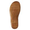 Kožené nazouváky šíře H bata, béžová, 566-4605 - 26