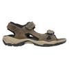 Pánské kožené sandály weinbrenner, hnědá, 866-3630 - 15