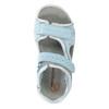 Kožené dětské sandály weinbrenner-junior, modrá, 466-9607 - 19