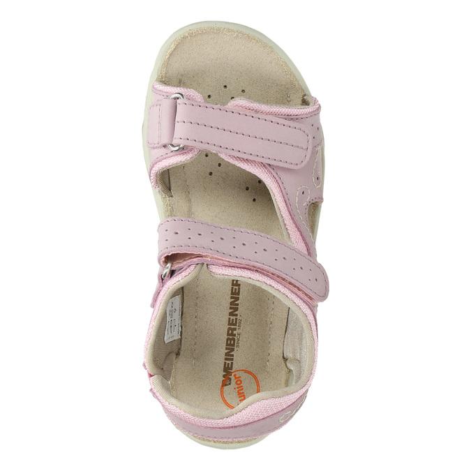 Dívčí růžové sandály weinbrenner-junior, růžová, 366-5607 - 19