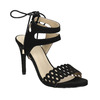 Černé sandály na jehlovém podpatku bata, černá, 769-6603 - 13