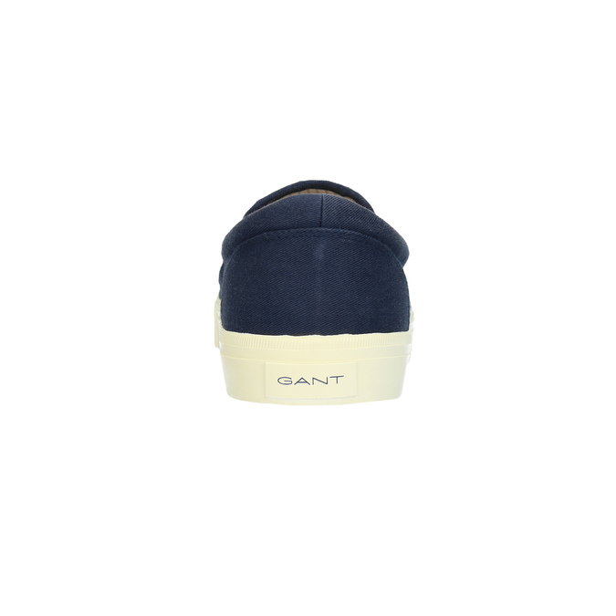 Pánská modrá Slip-on obuv gant, modrá, 819-9033 - 17