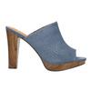 Mules nazouváky bata, modrá, 769-9615 - 15