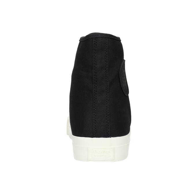 Pánské kotníčkové tenisky bata-bullets, černá, 889-6291 - 17