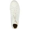 Pánské kotníčkové tenisky bílé bata-bullets, bílá, 889-1291 - 26