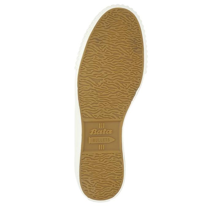Pánské tenisky s gumovou špicí bata-bullets, bílá, 889-1292 - 19