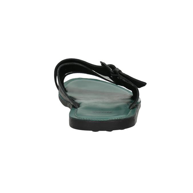 Kožené pánské nazouváky bata, černá, 864-6623 - 17