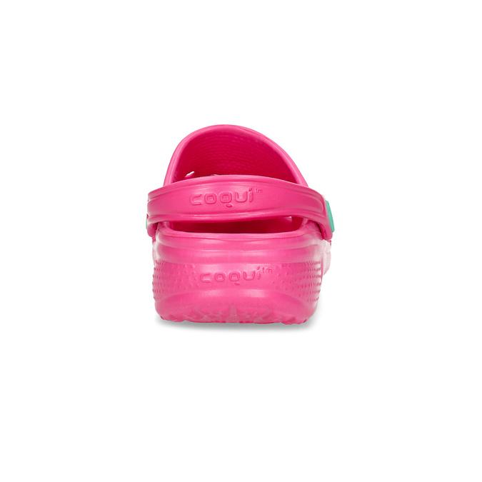 Dětské nazouváky dívčí coqui, růžová, 372-5604 - 15