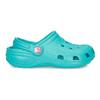 Tyrkysové dětské sandály Clogs coqui, tyrkysová, 372-9605 - 17