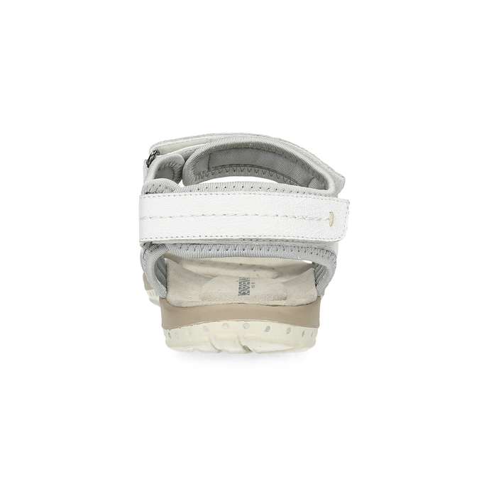 Kožené dámské sandály v Outdoor stylu weinbrenner, bílá, 566-1608 - 15