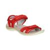 Červené dámské sandály kožené weinbrenner, červená, 566-5608 - 13