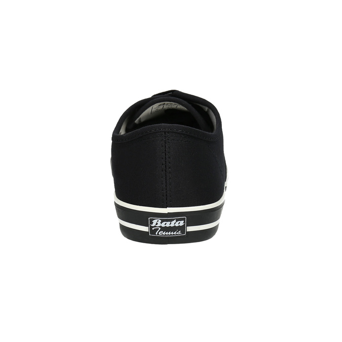Černé pánské tenisky bata-tennis, černá, 889-6296 - 17