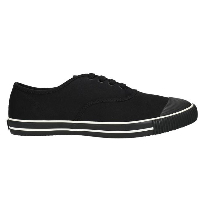 Černé pánské tenisky bata-tennis, černá, 889-6296 - 15